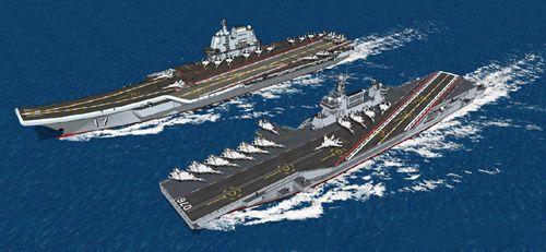中国第三艘航母的最新情况曝光 但国际军事人士的关注点被转移了_WWW.XUNWANGBA.COM