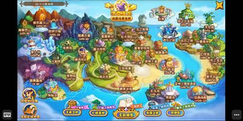 如何在手机上玩洛克王国?_WWW.XUNWANGBA.COM