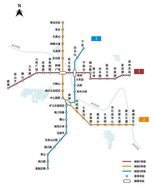 徐州地铁线路图2021更新_WWW.XUNWANGBA.COM