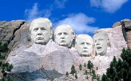 特朗普想上美国总统山 特朗普想把自己刻在总统山_WWW.XUNWANGBA.COM
