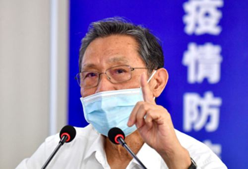 钟南山提醒周边疫情仍比较严重_WWW.XUNWANGBA.COM
