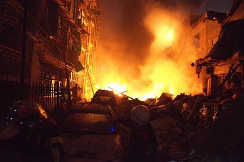武汉光谷沿街居民楼发生爆炸 居民楼发生爆炸后楼房怎么处理_WWW.XUNWANGBA.COM