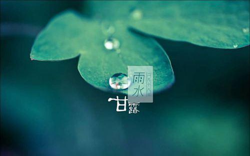 雨水节气养生食谱 雨水节气养生吃什么_WWW.XUNWANGBA.COM