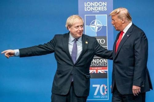 英国首相称特朗普为美国前总统 英国首相已经承认拜登当选_WWW.XUNWANGBA.COM