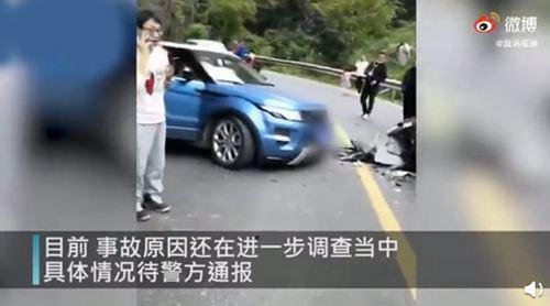 峨眉山景区附近道路两车相撞 峨眉山景区两车相撞多人受伤_WWW.XUNWANGBA.COM